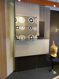 Een kijkje in de showroom van Protectsun raambekleding gordijnen zonwering horren