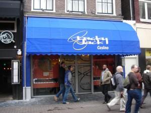 Het markies van Lucky Jack casino in hartje Amsterdam