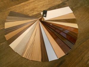 onze upgrading van de houten jaloezie collectie
